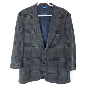 Pendleton Tweed Wool Sport Coat Jacket 46